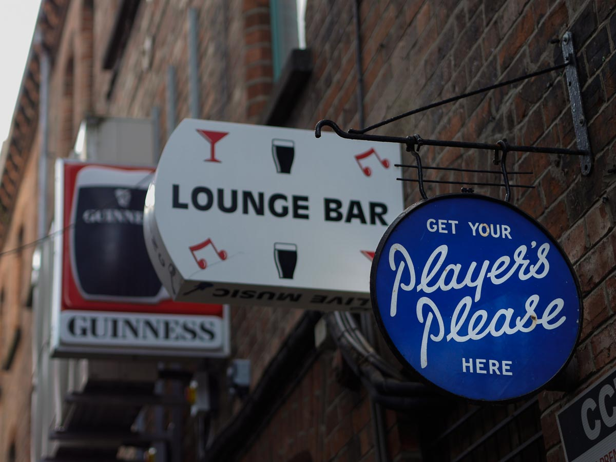 Old signs, Belfast