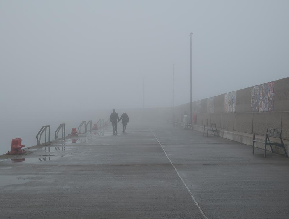 Foggy Bangor