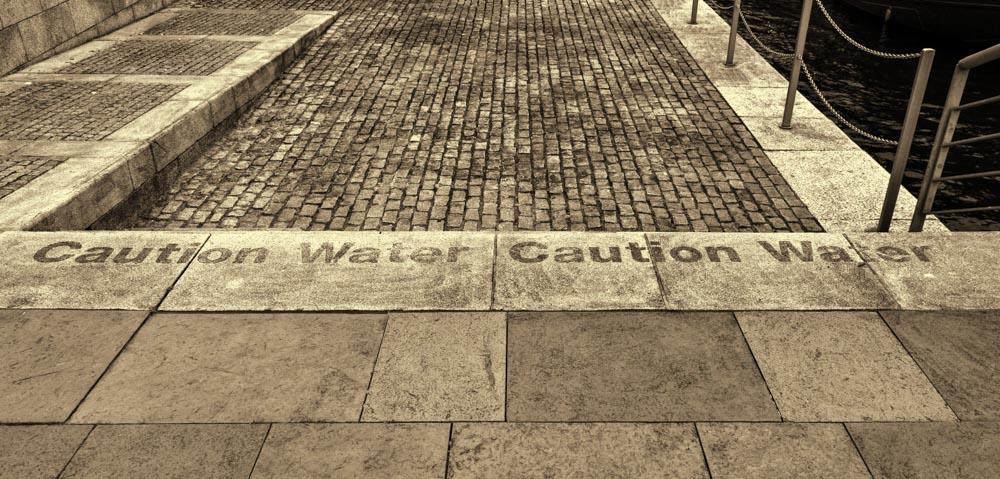 Caution Water, Laganside, Belfast