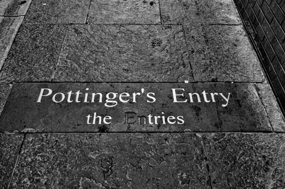 Pottinger's Entry, Belfast