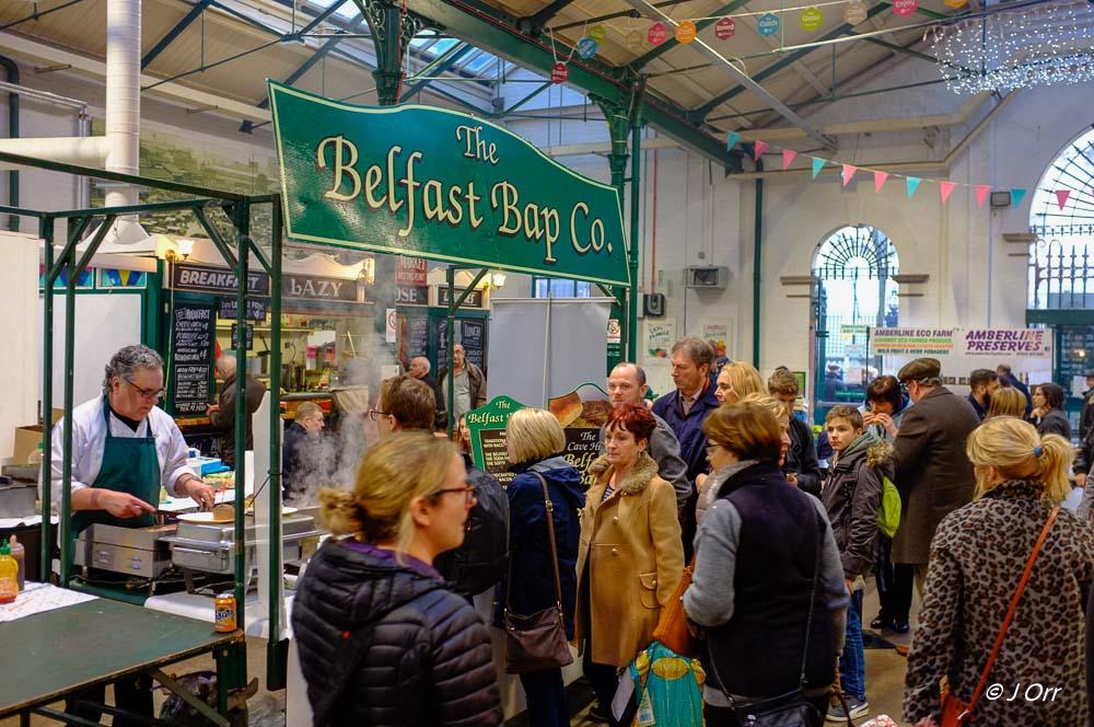 St. George's Market, Belfast.