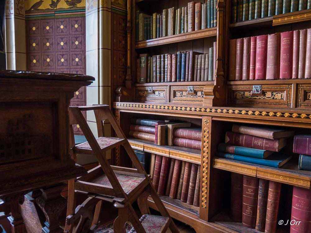 Library, Cardiff Castle