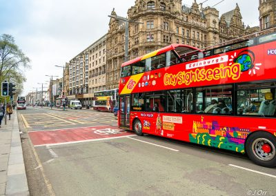 Edinburgh Tour Bus, Princes Street, Edinburgh