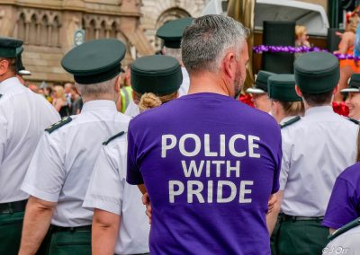 Belfast, Northern Ireland, UK, 4 August 2018. Thousands turn out for the annual Pride Day Parade