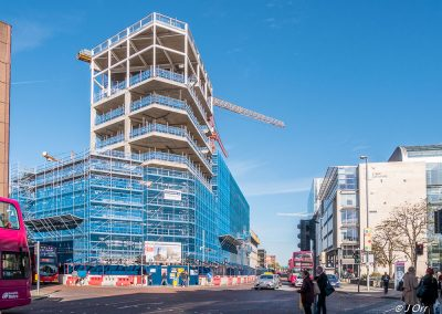 Ulster University construction