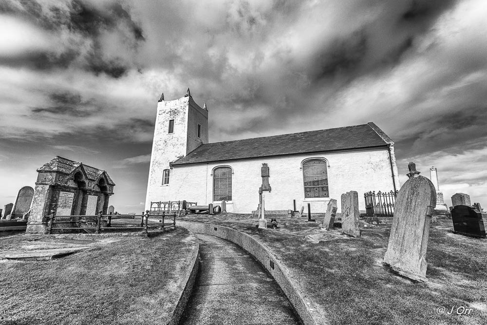 Ballintoy Parish Church is a short distance from the town. Completed in 1813 it was a replacement for an older church