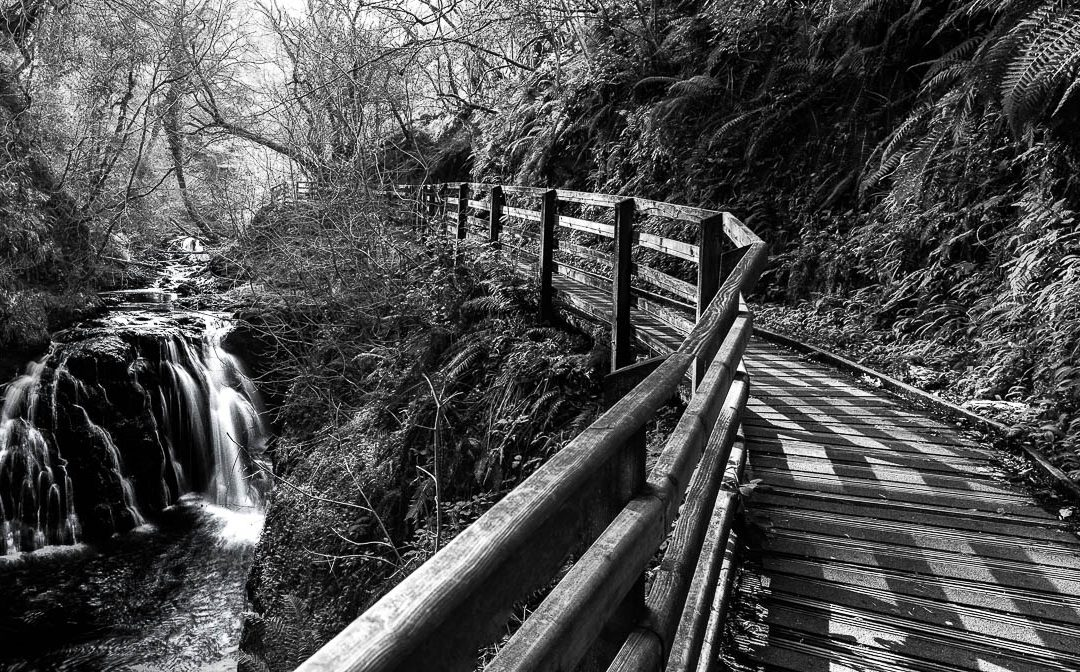 Glenariff Country Park, Antrim, Northern ireland. Glenariff is one of the Nine Glens of Antrim