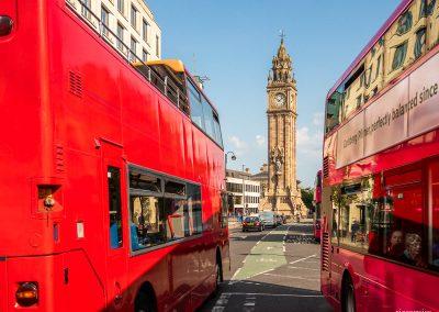 Buses, High Street, Belfast