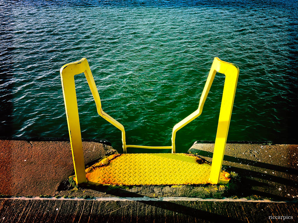 Ladder to the water